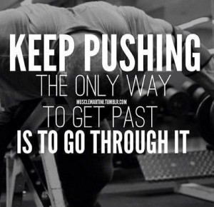 pushing
